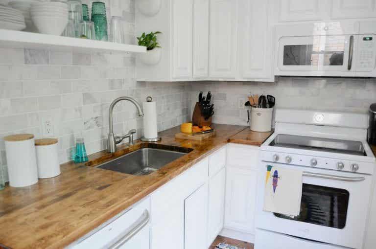 4 ideas perfectas para decorar cocinas pequeñas