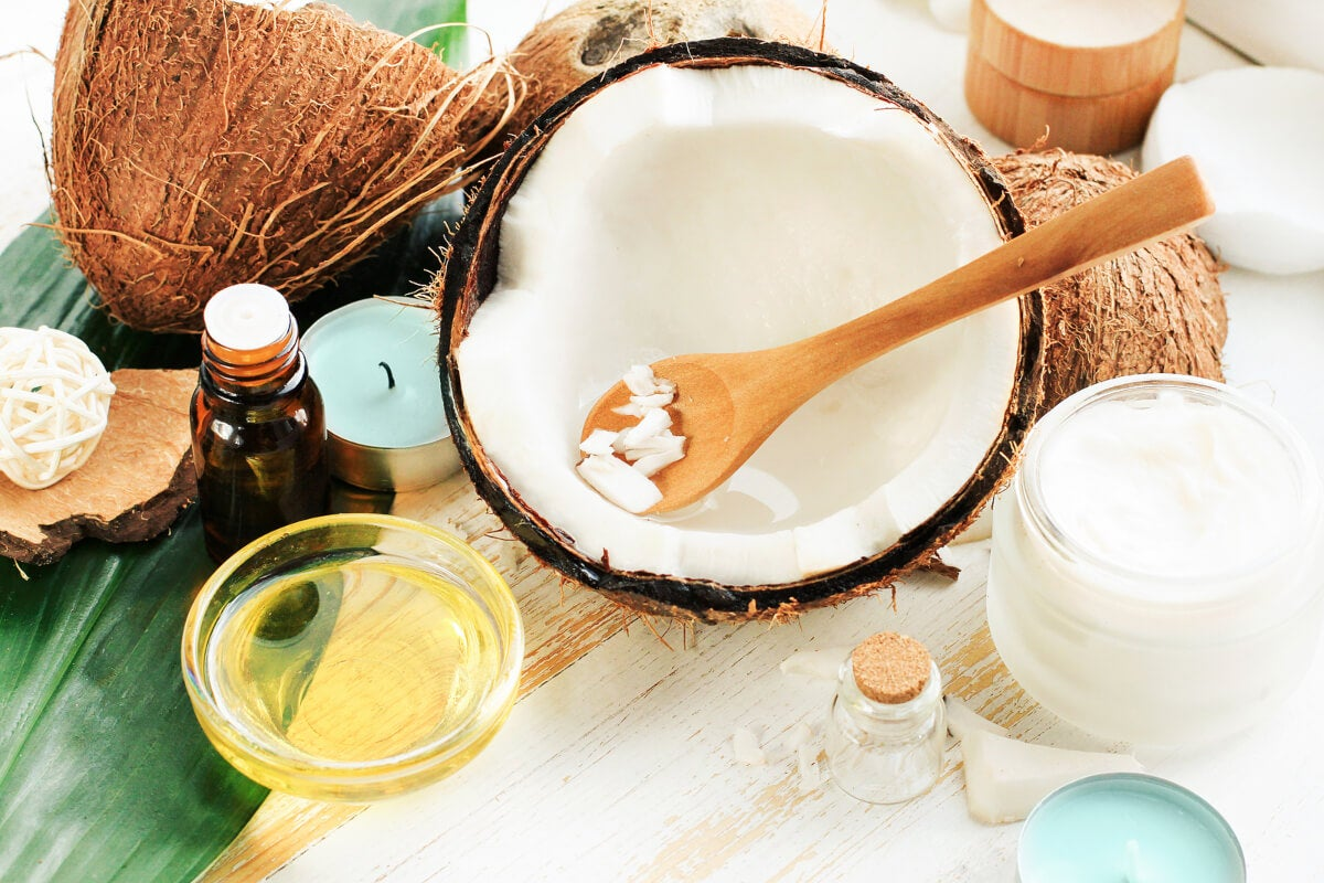 Crema de coco natural
