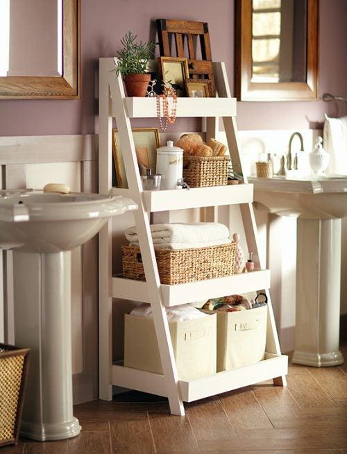 decorar-baño-estantería2