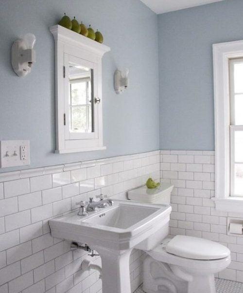 9 ideas fabulosas para decorar tu ba o mejor con salud - Como decorar un bano blanco ...
