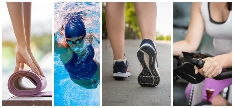 5 deportes para las personas con dolor en las rodillas