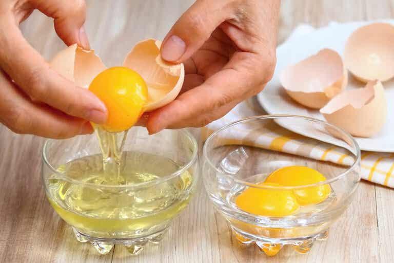 Usos de la clara de huevo para la belleza y salud de la piel