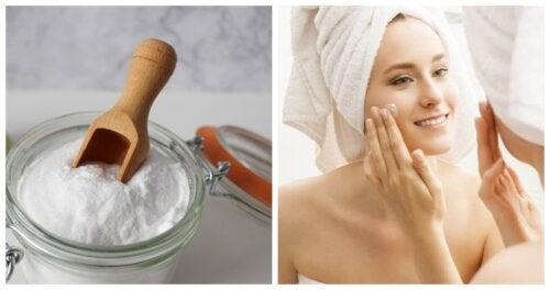 5 exfoliantes de bicarbonato de sodio para una piel envidiable