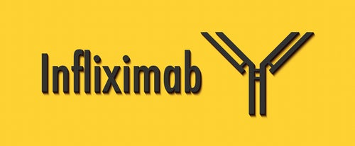 Infliximab contre la maladie de Crohn.