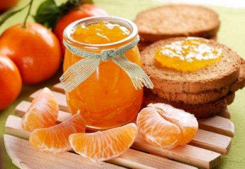 mermelada de mandarina para fortalecer tus defensas