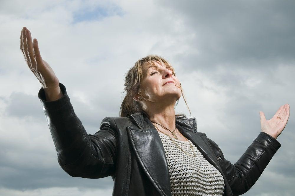 Mujer crisis de los 40