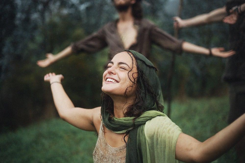 Mujer feliz