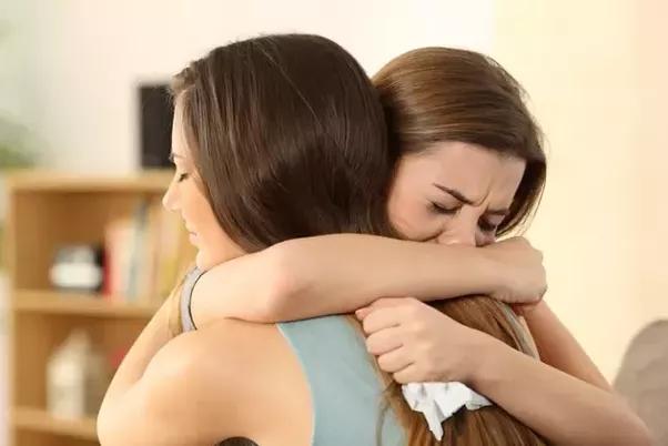 Mujeres llorando