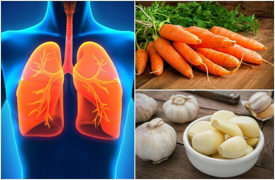 Mejora tu salud pulmonar añadiendo estos 7 alimentos en tu dieta