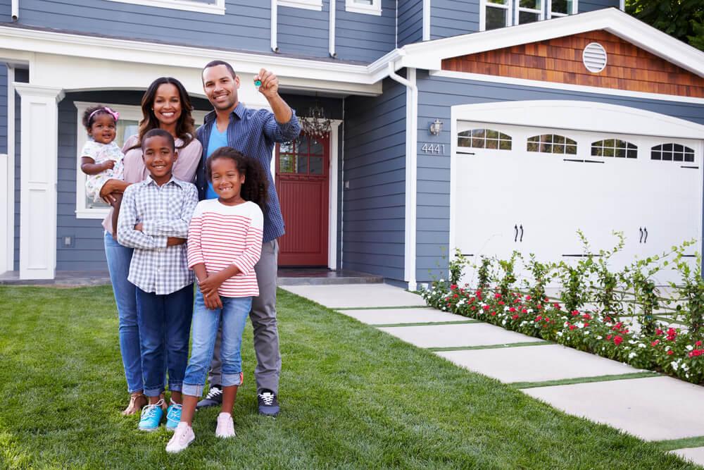 familia simbolizando dónde vivir