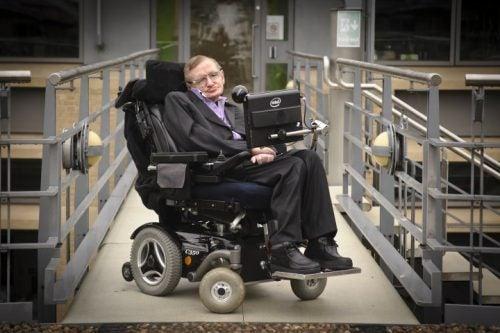 Un famoso paciente con ELA es el físico Stephen Hawking