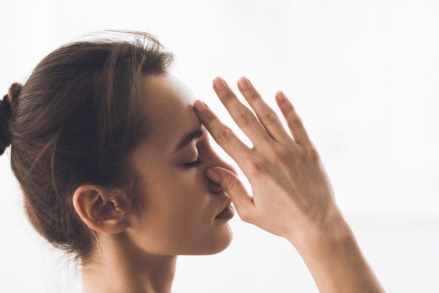 Técnicas de respiración profunda.