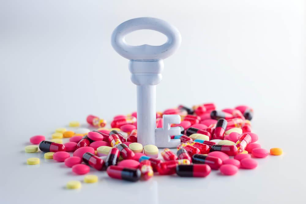 Tratamiento de la enfermedad de Crohn con antibióticos.