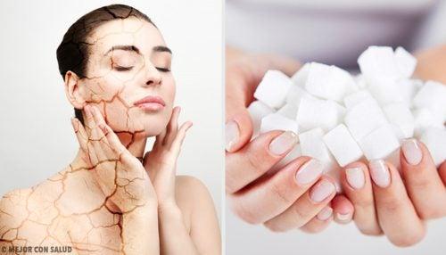 3 exfoliantes corporales con azúcar para combatir la piel seca