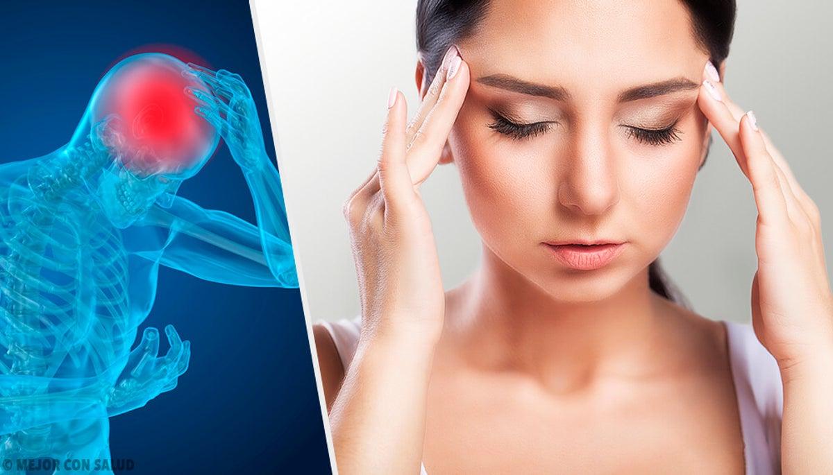 dolor de cabeza oído y cuello lado izquierdo