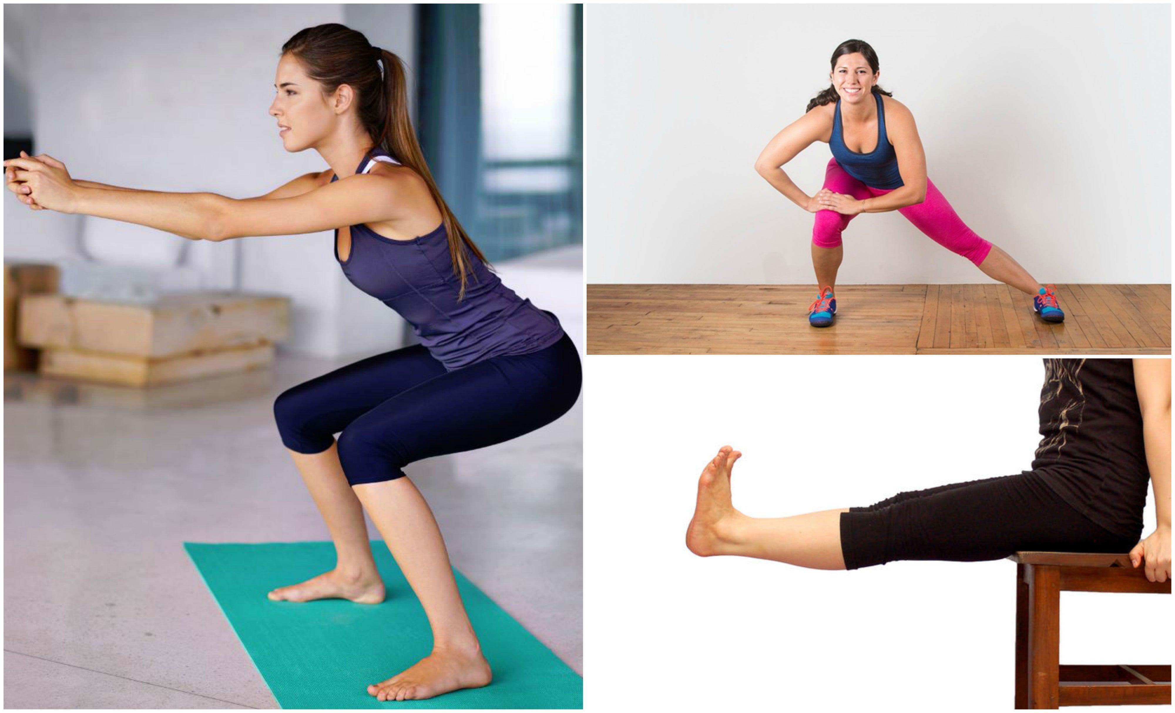 ejercicios para las piernas durante el confinamiento