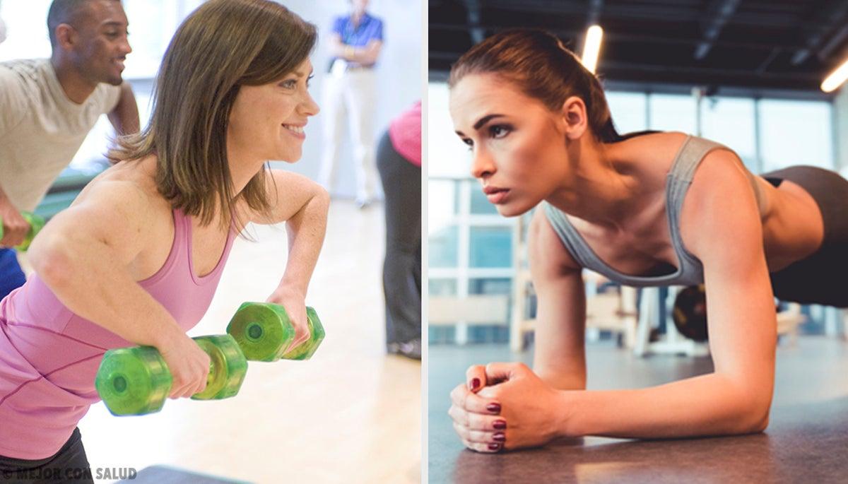 5 ejercicios para reducir el pecho — Mejor con Salud