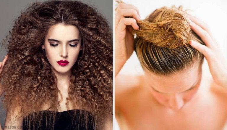 5 peinados ideales para cabello rizado