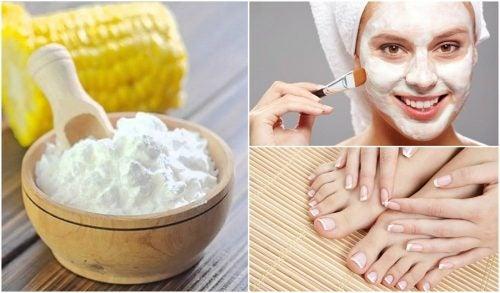 4 usos alternativos de la fécula de maíz