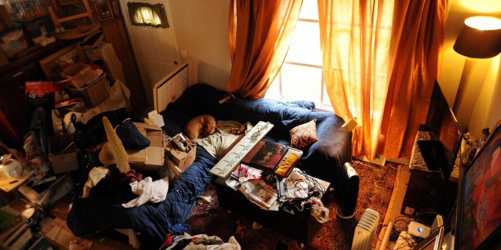 cómo mantener limpio el hogar: no acumules