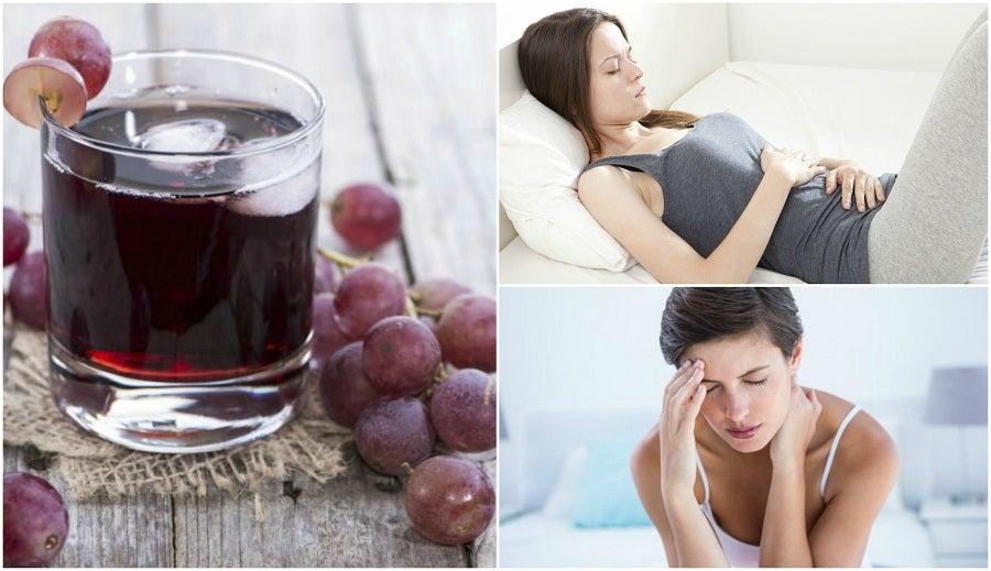 6 beneficios que obtienes por consumir jugo de uva regularmente