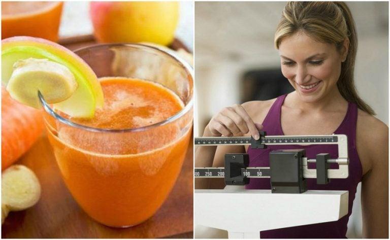 6 beneficios del jugo de zanahoria y jengibre