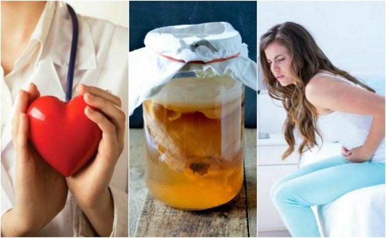 6 propiedades curativas del té de kombucha que no te puedes perder