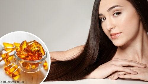 como tomar la vitamina e para el cabello