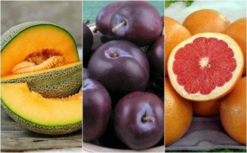 7 frutas ricas en agua que te ayudan a hidratar tu organismo