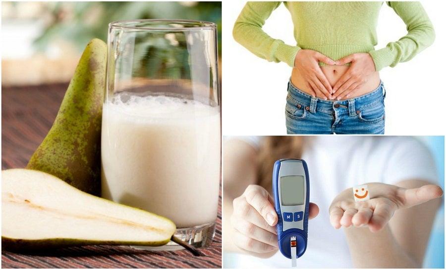 7 razones por las que deberías tomar agua de pera