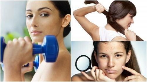 8 interesantes beneficios estéticos del ejercicio físico