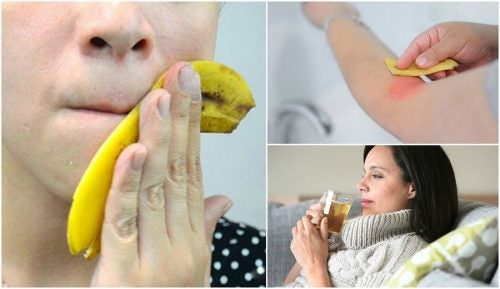 8 interesantes usos que le puedes dar a las cáscaras de banana