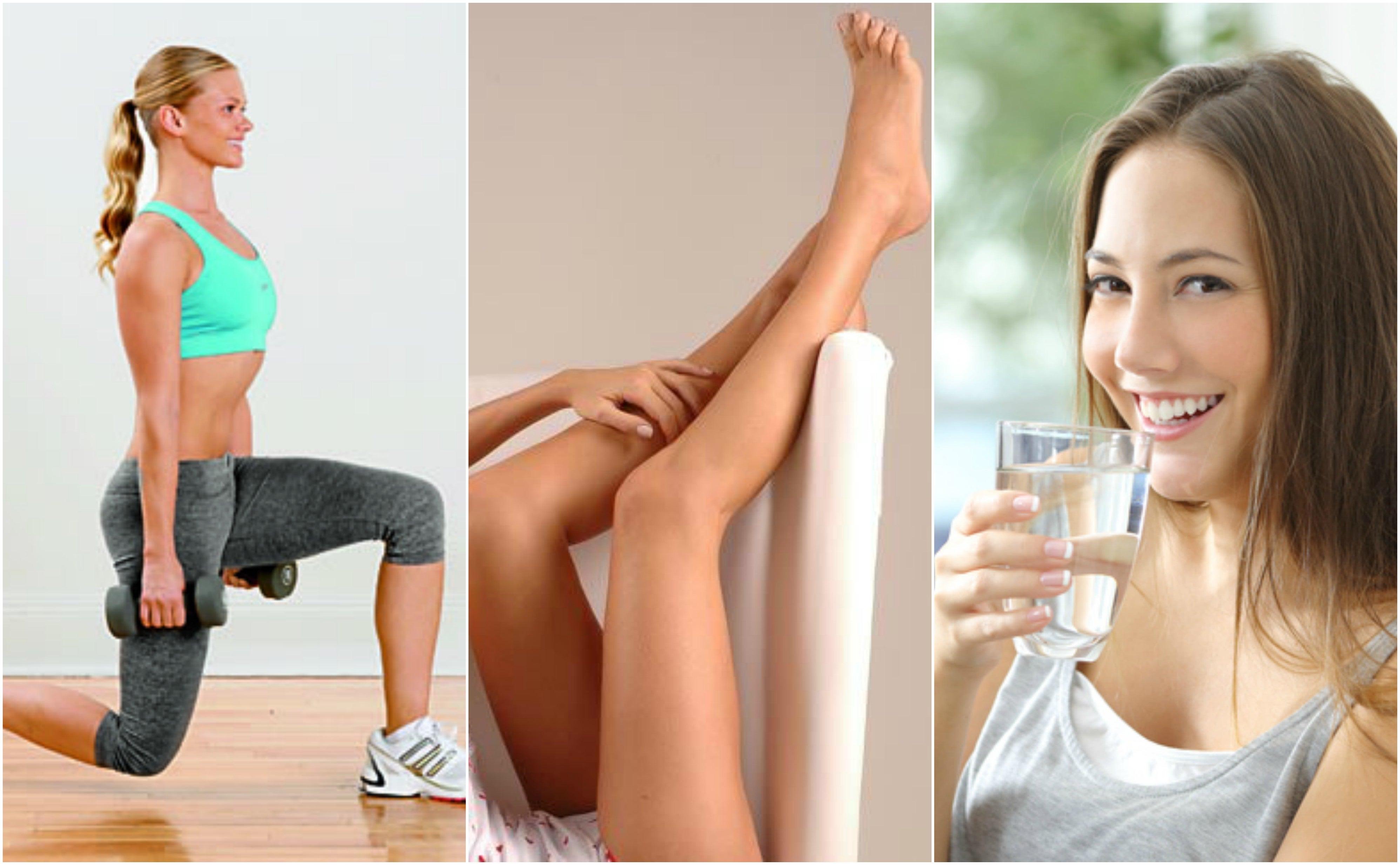 8 métodos naturales para aliviar las piernas inflamadas