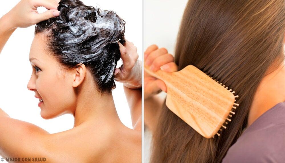 9 trucos que te ayudarán a lavar el cabello con menor frecuencia