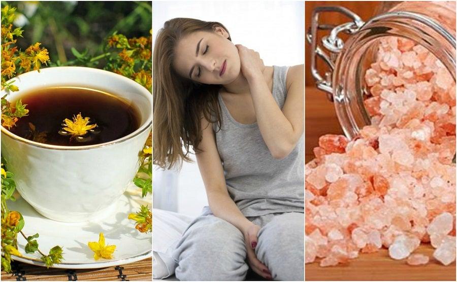 Alivia el dolor cervical preparando 5 remedios de origen natural