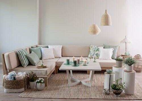 Aprende a decorar un salón al estilo vintage