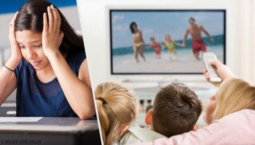 Cómo afecta la televisión a los niños
