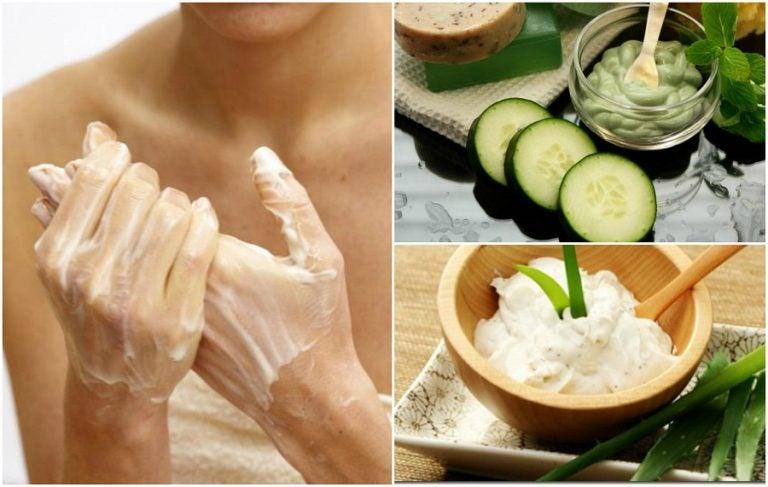 Cómo atenuar las manchas de las manos con 5 cremas caseras