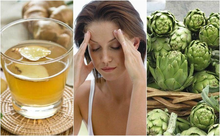 Cómo calmar el dolor de las migrañas con 5 remedios naturales