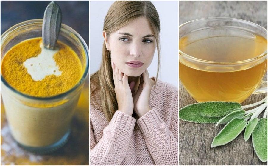 Cómo calmar la irritación de la garganta con 6 ingredientes naturales