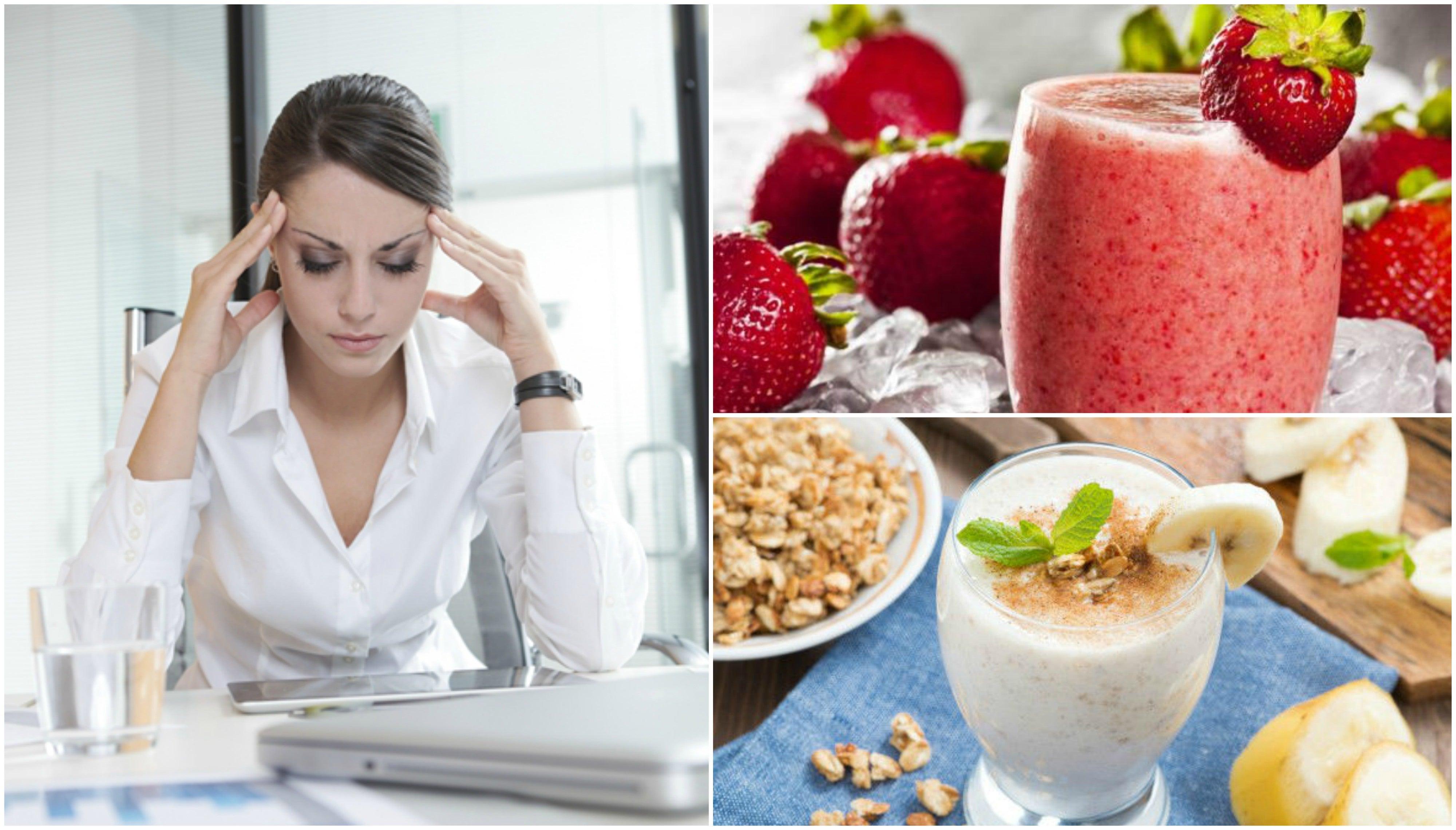 Cómo combatir el cansancio matinal con 5 licuados naturales