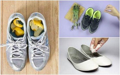 Cómo eliminar el mal olor de tu calzado con 5 remedios caseros