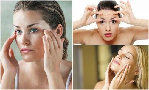 Facial exercises to thin the face.
