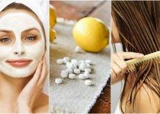 Cómo preparar 5 tratamientos cosméticos con aspirinas
