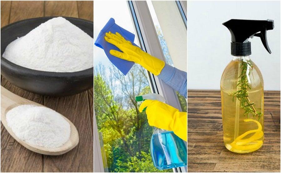 Cómo preparar tus propios limpiavidrios ecológicos con 5 recetas caseras