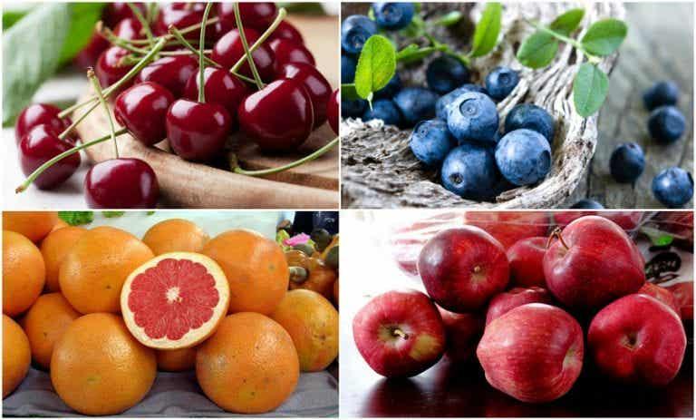 Cómo reducir la acumulación de ácido úrico incluyendo 7 frutas en la dieta