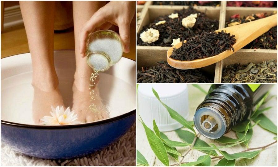Cómo reducir la sudoración en los pies con 5 remedios caseros
