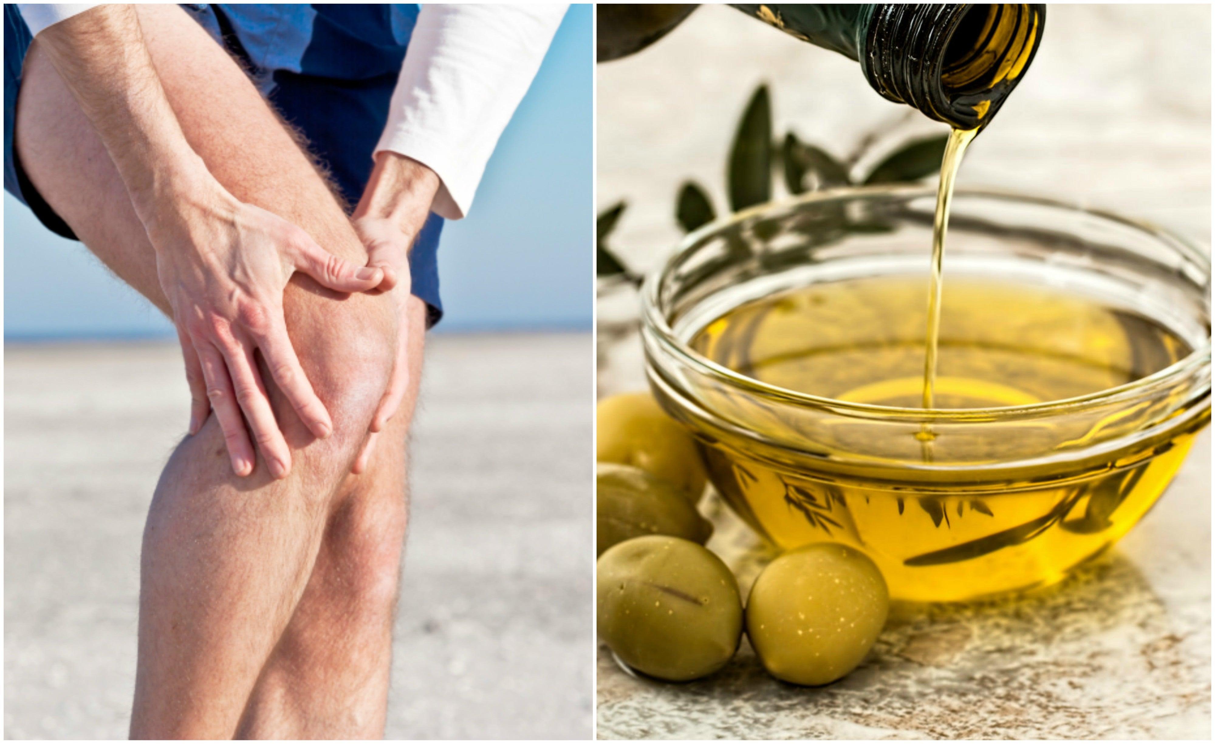 Cáscara de limón y aceite de oliva para aliviar el dolor de las articulaciones