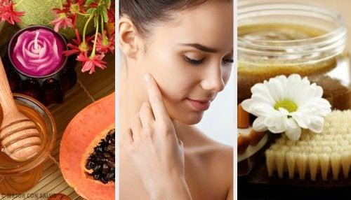 Con estas 8 mascarillas frutales combatirás la piel seca