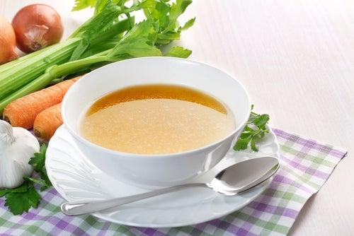 Consume sopas y caldos